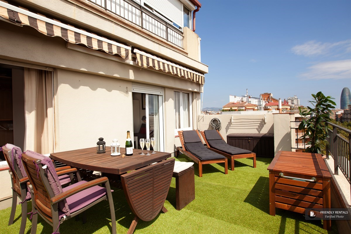 L´appartamento Boutique Terrace a Barcellona
