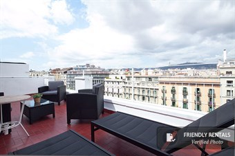 The Gran Via Terrace IV Apartment