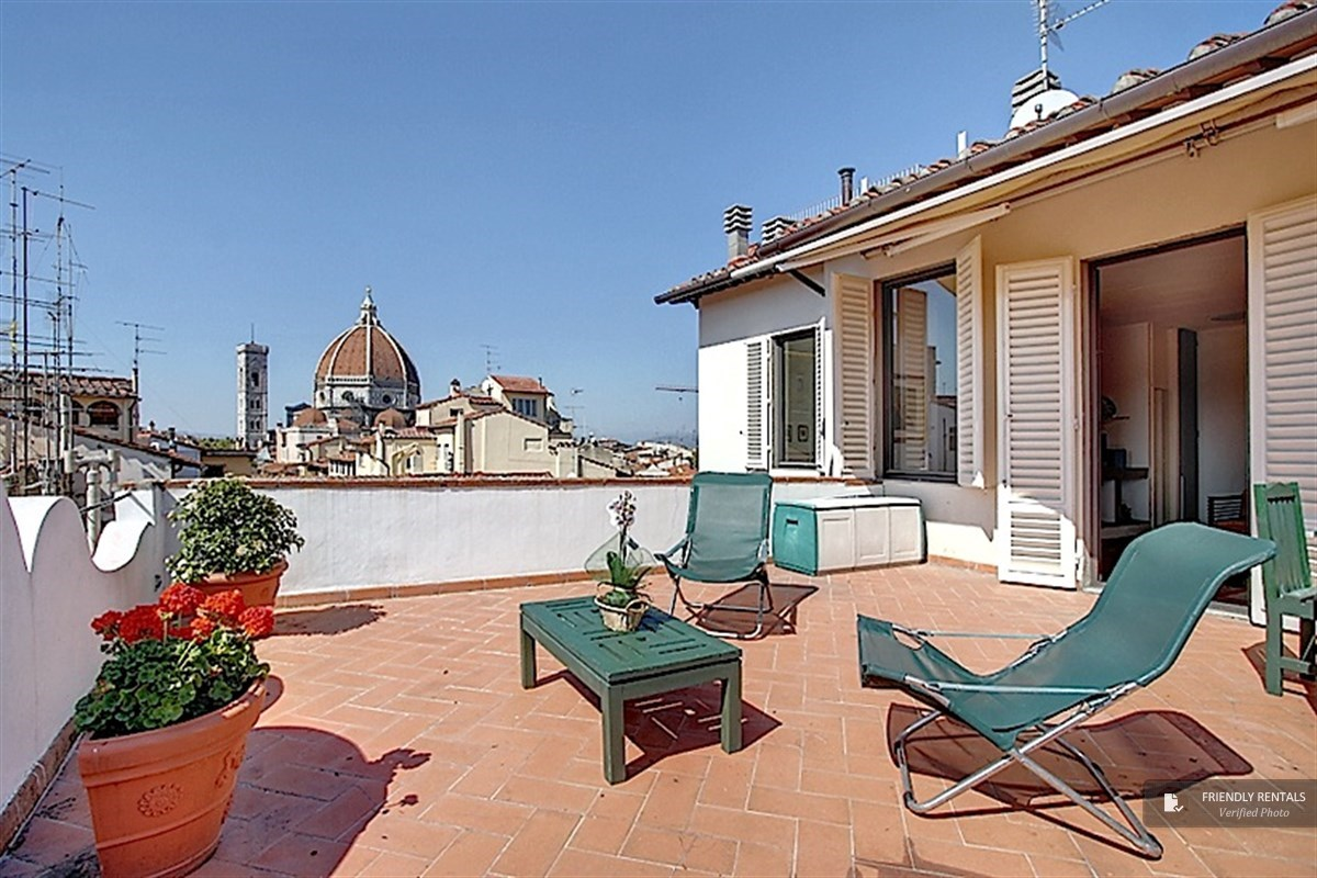 The Bianca Apartment in Florence, Penthouse with exclusive terrace ...
