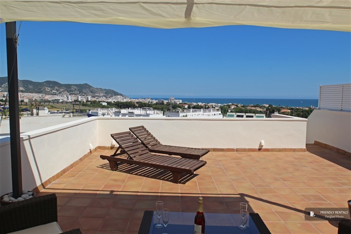 The Maria Atico apartment in Sitges
