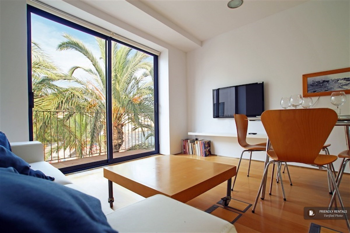 The Port Alegre Attic Apartment in Sitges