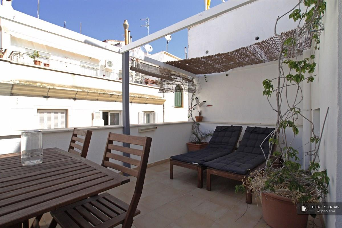 The San Francisco Duplex Atic apartment in Sitges