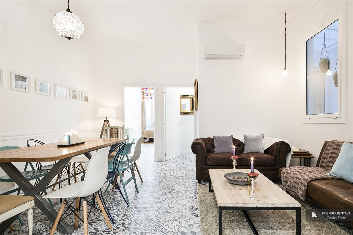 The Vintage apartment in Barcelona
