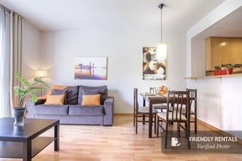 L'appartamento Living Eixample III