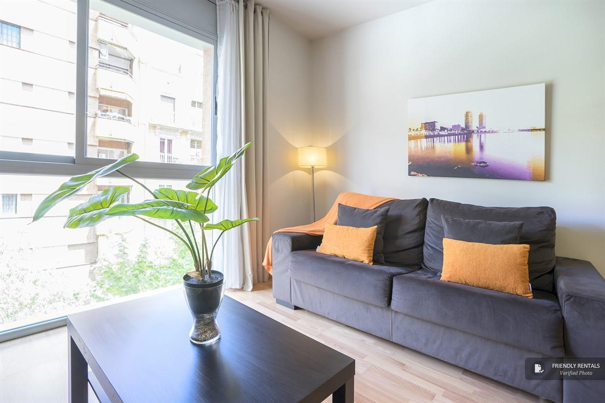 Het Living Eixample I appartement in Barcelona
