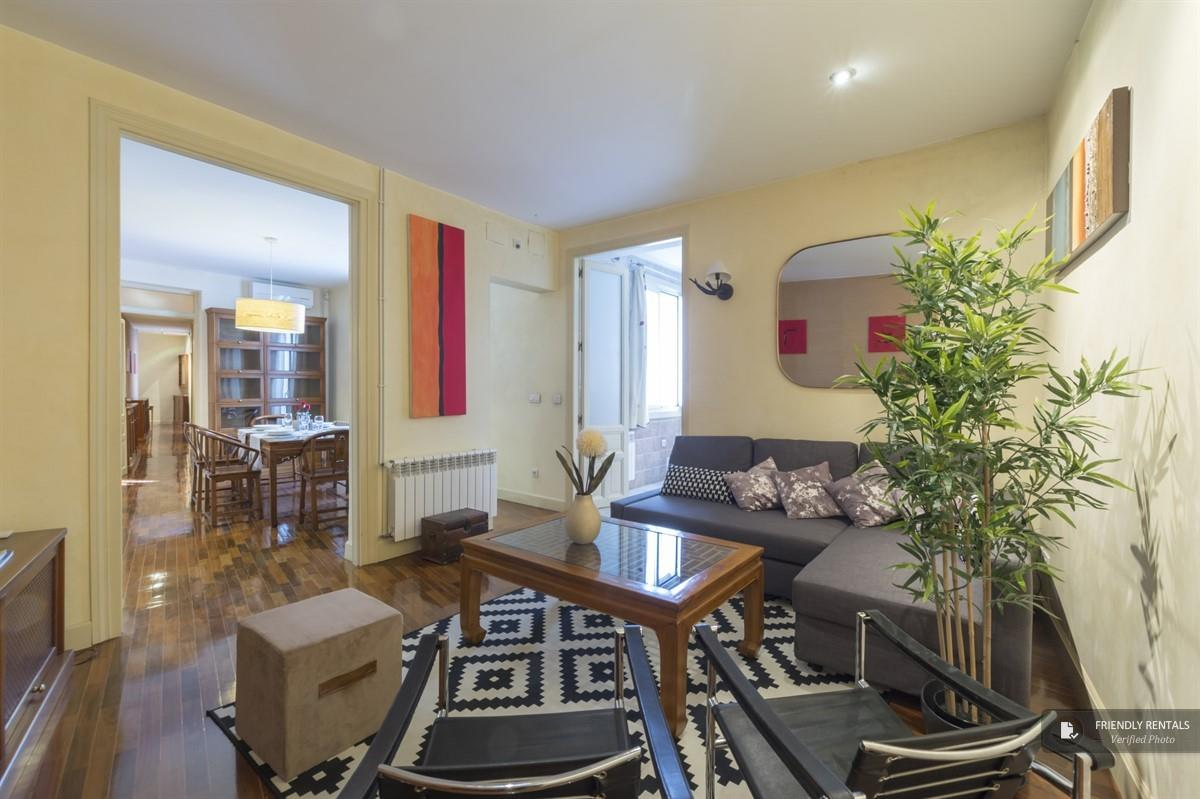 The San Miguel apartment in Madrid