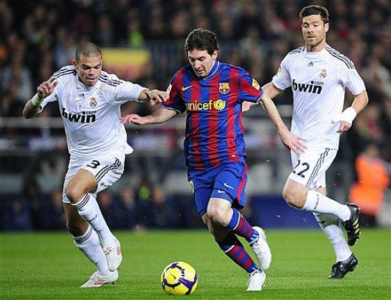 barcelona fc vs real madrid 2010. Twice a year Real Madrid and