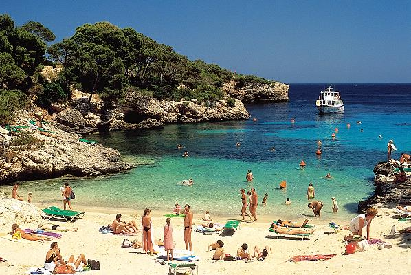 Top five beaches in Mallorca