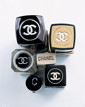 Paris brands: Chanel, Louis Vuitton