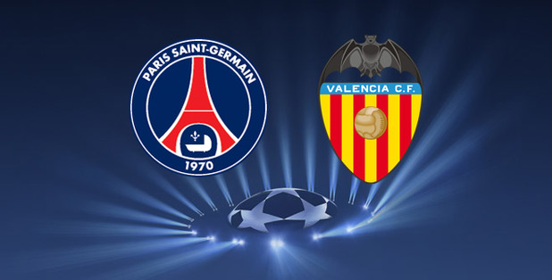 Paris St. Germain v Valencia: Last 16 of the Champions League 2013