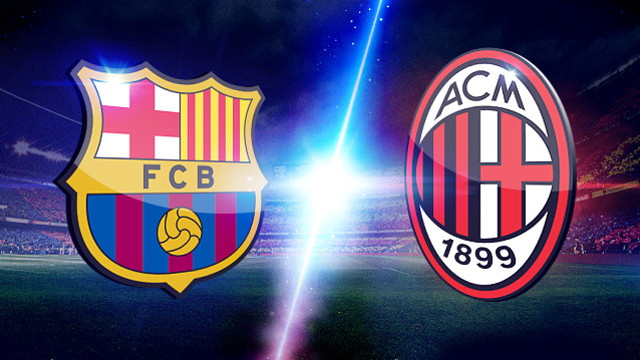 Champions League 2013, Barcelona v Milan