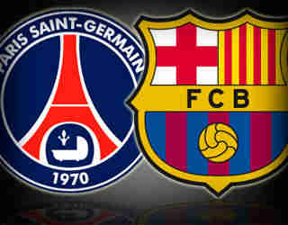 PSG v Barcelona: Champions League Quarter Final 2013
