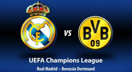 Semifinales Champions League 2013 Real Madrid – Borussia Dortmund