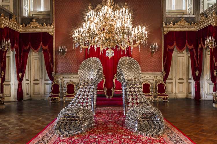 Joana Vasconcelos' Contemporary Art takes over the Palacio da Ajuda