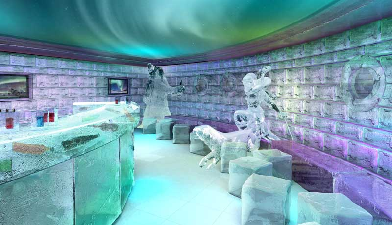 Barcelona's Ice Bar